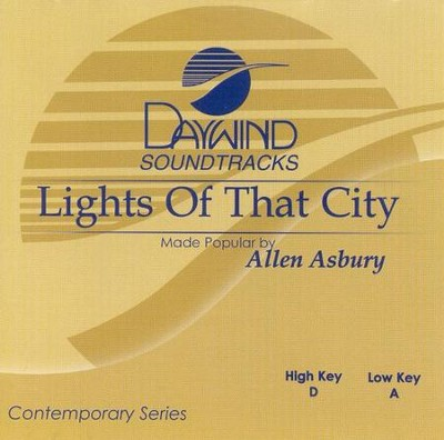 Lights of That City, Accompaniment CD   -     By: Allen Asbury
