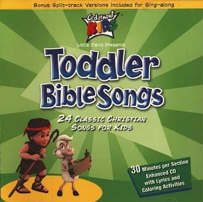 Toddler Bible Songs, Compact Disc [CD]   -     By: Cedarmont Kids