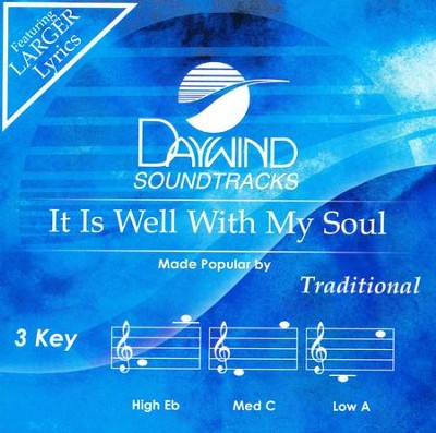It Is Well With My Soul Accompaniment CD   -     By: Greater Vision