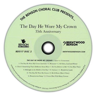 The Day He Wore My Crown, 35th Anniversary (Listening CD)  -     By: David T. Clydesdale