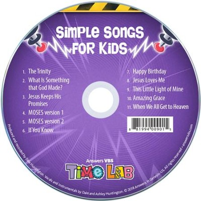 Time Lab: Simple Songs for Kids  -