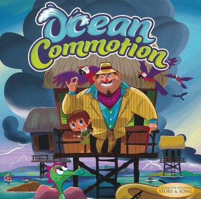 "Ocean Commotion   -     By: Ron ""Patch"" Hamilton"