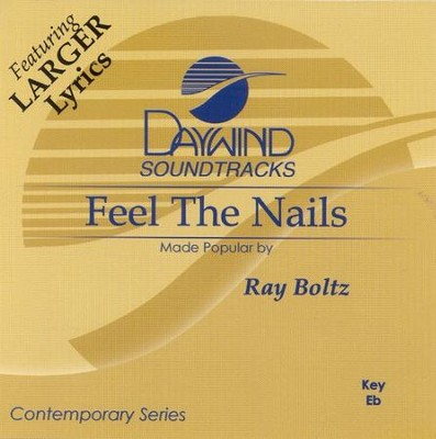 Feel The Nails, Accompaniment CD   -     By: Ray Boltz