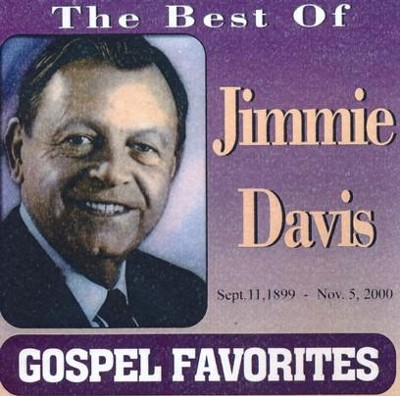 Gospel Favorites: The Best of Jimmie Davis CD  -