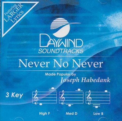 Never, No Never   -     By: Joseph Habedank