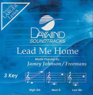 Lead Me Home, Accompaniment CD   -     By: Jamey Johnson