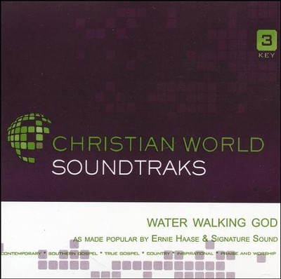 Water Walking God, Accompaniment Track  -     By: Ernie Haase & Signature Sound
