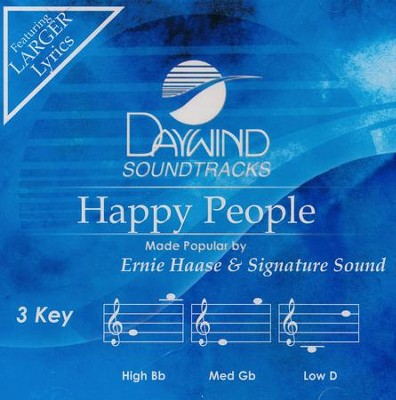 Happy People, Accompaniment CD   -     By: Ernie Haase & Signature Sound