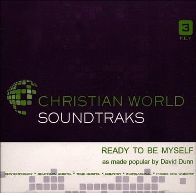 Ready To Be Myself, Accompaniment CD   -     By: David Dunn