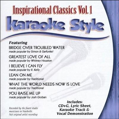 Inspirational Classics, Vol  1, Karaoke Accompaniment CD