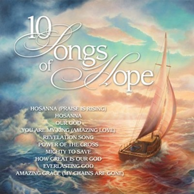 10 Songs of Hope CD  -     By: Various Artists