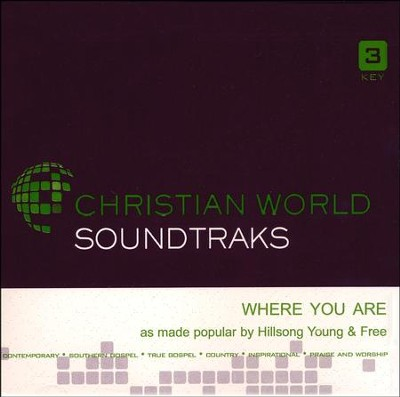 Where You Are, Accompaniment CD   -     By: Hillsong Young & Free