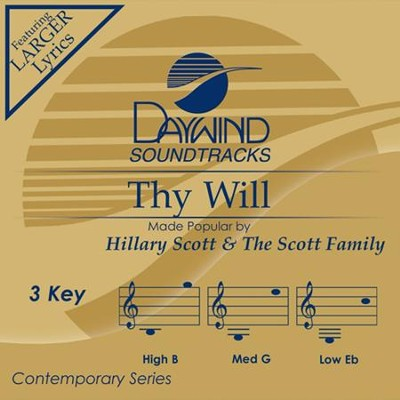 Thy Will, Accompaniment CD   -     By: Andy Griffith