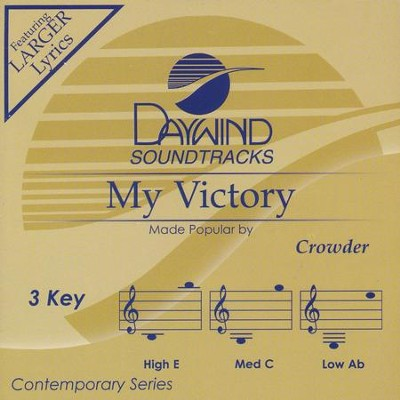 My Victory, Accompaniment CD   -     By: Crowder