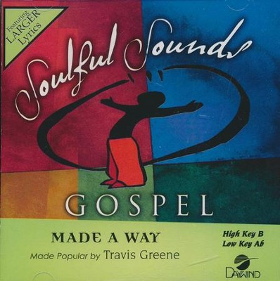 Made a Way, Accompaniment CD   -     By: Travis Greene