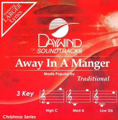 Away In A Manger, Accompaniment Track  -