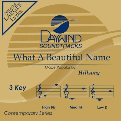 What a Beautiful Name, Accompaniment CD   -     By: Hillsong