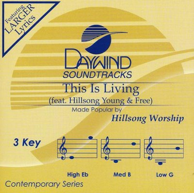 This is Living, Accompaniment CD   -     By: Hillsong Worship