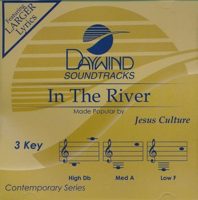In the River, Accompaniment CD   -     By: Jesus Culture