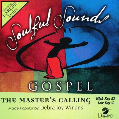 The Master's Calling, Accompaniment Track  -     By: Debra Joy Winans