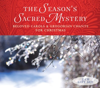 Gregorian Christmas Chants.The Season S Sacred Mystery 2cd Gift Set Beloved Carols And Gregorian Chants For Christmas Contains Booklet With Texts And Translations