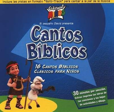 Cantos Bíblicos (Bible Songs), CD   -     By: Cedarmont Ninos