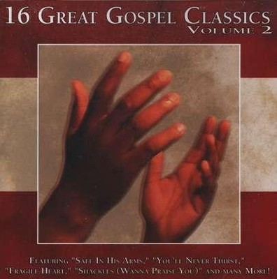 16 Great Gospel Classics, Volume 2 CD   -