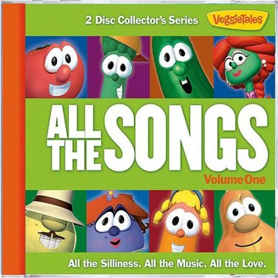 All The Songs: Volume 1 (2 CD Set)   -     By: Veggietales