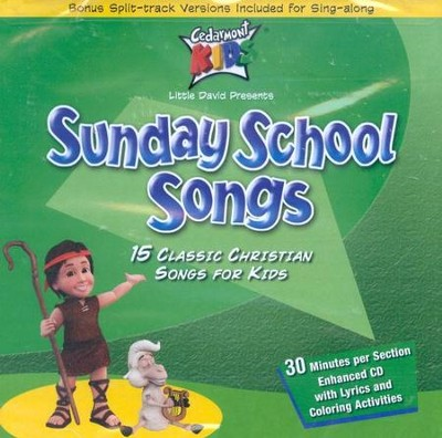 Sunday School Songs CD   -     By: Cedarmont Kids
