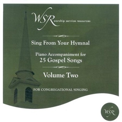 25 Gospel Songs - Vol. 2, Accompaniment CD   -