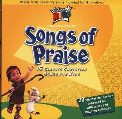 Songs Of Praise, Compact Disc [CD]   -     By: Cedarmont Kids