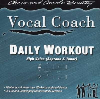 Daily Workout High Voice CD   -     By: Carole Beatty