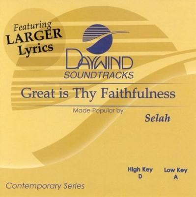 Great is Thy Faithfulness, Accompaniment CD