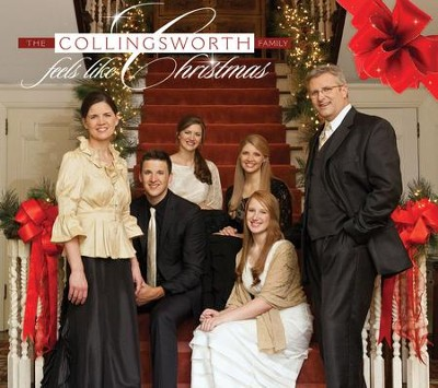 Feels Like Christmas, CD   -     By: The Collingsworth Family