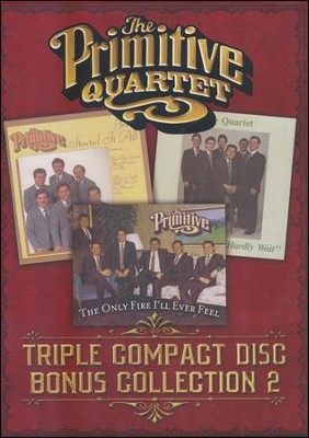 Triple Compact Disc Collection 2   -     By: The Primitive Quartet