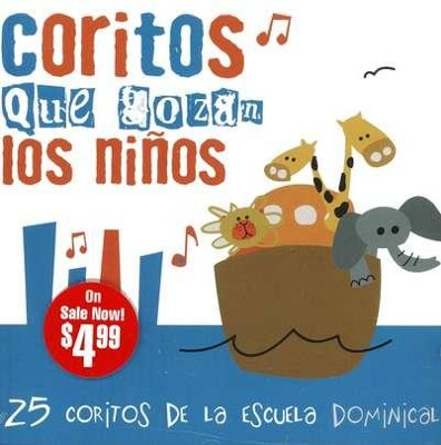25 Cantos de Escuela Dominical  (25 Sunday School Songs), CD  -