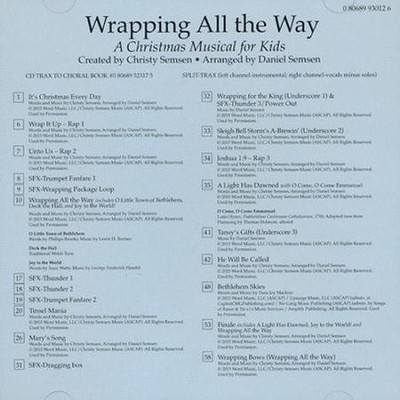 Wrapping all the Way, Split-Track Accompaniment CD   -     By: Christy Semsen, Daniel Semsen