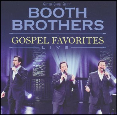 Gospel Favorites, Live   -     By: The Booth Brothers