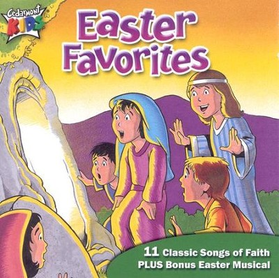 Easter Favorites, Compact Disc [CD]   -     By: Cedarmont Kids