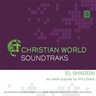 El Shaddai, Accompaniment CD   -     By: Amy Grant