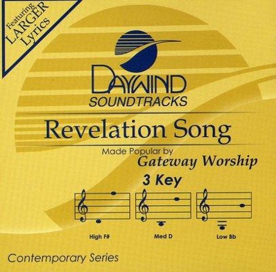Revelation Song, Accompaniment CD   -     By: Gateway Worship