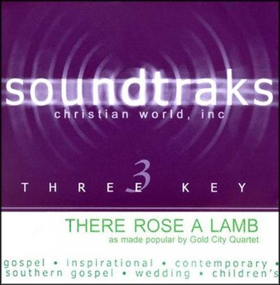There Rose a Lamb, Accompaniment CD   -     By: Gold City Quartet