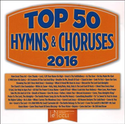 Top 50 Hymns & Choruses, 2016 Edition--3 CDs   -     By: Maranatha!