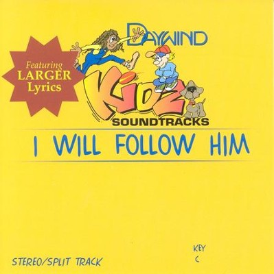 I Will Follow Him, Accompaniment CD   -