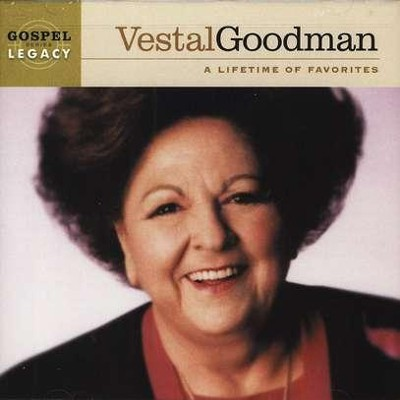 A Lifetime Of Favorites CD   -     By: Vestal Goodman
