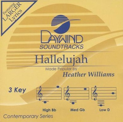 Hallelujah   -     By: Heather Williams