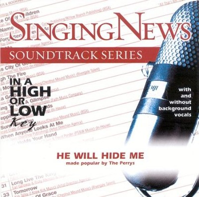 He Will Hide Me, Accompaniment CD   -     By: The Perrys