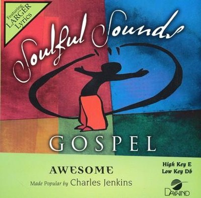 Awesome, Accompaniment CD   -     By: Charles Jenkins