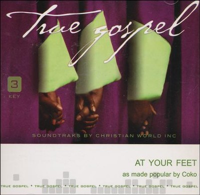 At Your Feet Accompaniment, CD  -     By: Coko