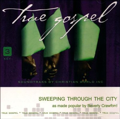 Sweeping Through The City, Accompaniment CD   -     By: Beverly Crawford